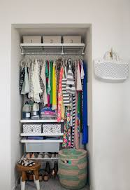 closet organizers for small closets. plain small a mini closet makeover for closet organizers small closets