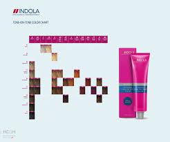 Schwarzkopf Indola Colour Chart Indola Intensive Tone On Tone Color Chart Hair Color