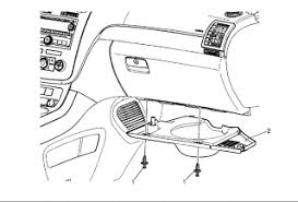 instrument panel fuse box located on saturn outlook your owner instrument panel fuse box