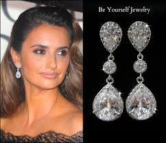 curtain stunning crystal chandelier earrings for wedding 34 teardrop bridal white by l 3136a67bb1993126 stunning crystal