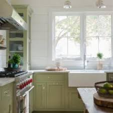 Green Country Kitchens Kitchen With Farmhouse Sink N To Design Ideas