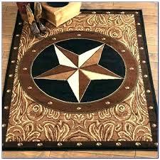 texas star area rugs western rug rustic