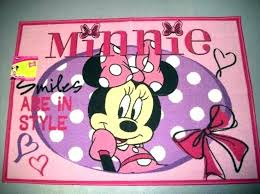 large minnie mouse bedroom rug 1 2 x