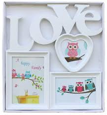 collage picture frames white love