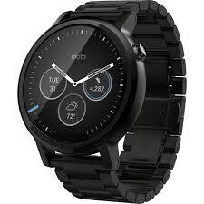 moto 360 2nd gen 46mm. moto 2nd gen 360 46mm men\u0027s smartwatch (black, b\u0026h