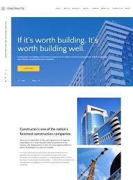 Construction Website Templates Fascinating 48 Best Architecture Construction Website Templates 48