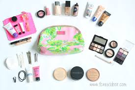 fit s pack your makeup bag like a pro