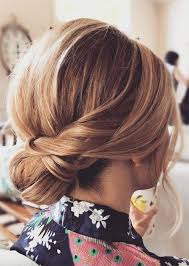 updos for short hair ideas low short hair updo