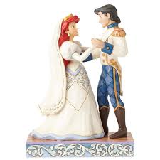 Small Picture Amazoncom Jim Shore Disney Traditions by Enesco Ariel and Prince
