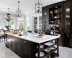 Kitchen Cabinets Shelves Gray White Island With Open Shelves White Gray Kitchen Cabinets