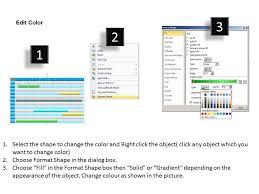 Gantt Chart Year Planner 1 Year Planning Gantt Chart Powerpoint Slides Gantt Ppt
