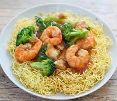chinese food fried noodles. Perfect Food Crispy Pan Fried Noodles In Chinese Food T