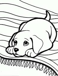 Small Picture Labrador Colouring Pages FunyColoring
