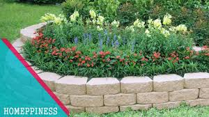 must look 25 low budget stone garden edging ideas that will save your money