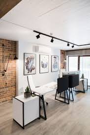 nice kitchen track lighting interior decor. It Is One Example Of A Creative Decor To Your Office Design Project. An Space Doesn´t Need Be Always With Neutral Pallet You Can Give Them Some Nice Kitchen Track Lighting Interior H