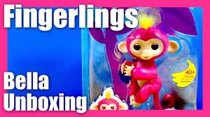 FingerLings Baby Monkey Bella Finger-Ling Pink Yellow Hair Monkey by ...