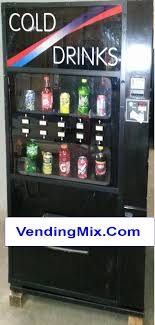Juice Vending Machine Price Adorable SODA MACHINES Bottle Can VendingMix