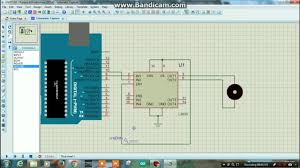 pwm controlling of a dc motor using l293d arduino proteus simulation tutorial 10 you