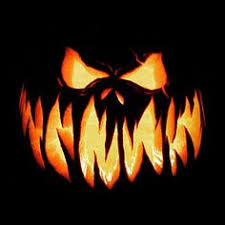 Scary Pumpkin Carving Patterns Simple FreeScaryPumpkinCarvingStencil48 Projects To Try