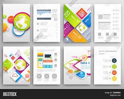 Design Business Flyers Online Set Flyer Brochure Vector Photo Free Trial Bigstock