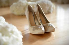 glass wedding shoes. remember: cinderella is proof that a new pair of shoes can change your life. be sure to watch for the glass slipper collection in dsw stores nationwide this wedding