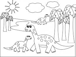 Small Picture Dinosaur Coloring Pages for Kids