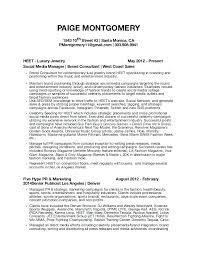 sample public relations resume media resume examples pr template public relations templates and
