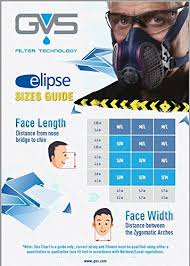 Half Mask Respirator Size Chart Details About Gvs Spr451 Elipse P100 Half Mask Respirator Small Medium