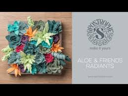 felt succulents project diy home decor crafts apostrophe s