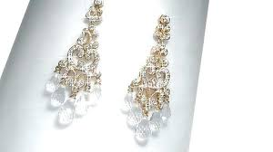 luxury nadri chandelier earrings or heather cubic chandelier
