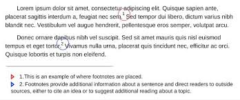 What Are Footnotes And How Do You Use Them Scribendi