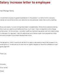 Salary Increase Request Letter Template Metabots Co