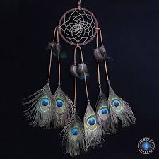 Dream CatchersCom Custom Peacock Feather Dream Catcher Project Yourself