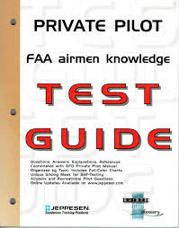 Jeppesen Chart Study Guide Buy Private Pilot Faa Airmen Knowledge Test Guide For