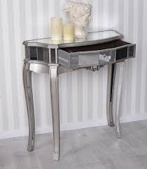 Wandtisch Verspiegelt Konsolentisch Glaskonsole Tischkonsole