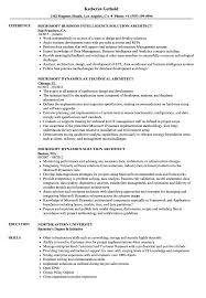 Microsoft Resume Microsoft Architect Resume Samples Velvet Jobs 94