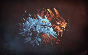 dota 2 wallpaper red blue hd wallpaper wiki