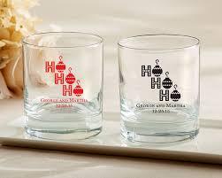 printed rocks glass ho ho ho