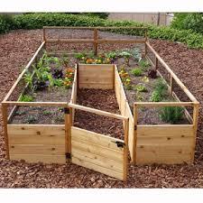 elevated garden beds. 8 Ft X 12 Western Red Cedar Raised Garden Elevated Beds