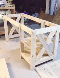 diy office desk. Wonderful Desk DIY Farmhouse Desk For The Home Office Inside Diy Desk T