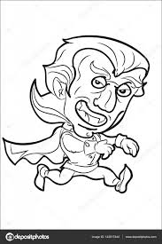 Cartoon Lopende Vampier Stockvector Agaes8080 142017444
