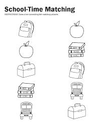 Back To School Printable Worksheets Worksheets for all | Download ...