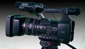 sony 4k camcorder. sony pxw-z100 4k camcorder