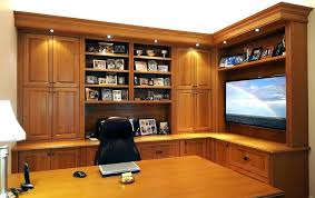 custom made office furniture. Built In Office Furniture Custom Home Desk Transitional Style . Made I