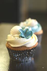 Beach Themed Blue White Wedding Cupcakes Angie Boyd Flickr