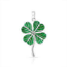 four love of luck write the first review lucky leaf clover green shamrock irish pendant necklace