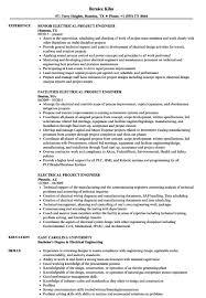 Electrical Engineering Resume Sample Pdf New Engineer In Usa