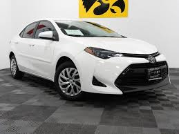 2018 toyota corolla l in iowa city ia carousel motors