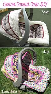 car seat before after 12 diy baby covers