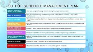 Project Schedule Management Plan Template Project Management Plan Template Pmbok Lead Management Plan Template